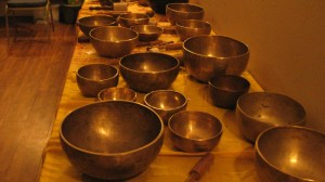 Table of Bowls